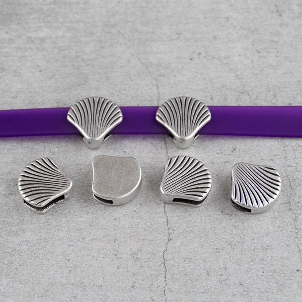 Metal İstiridye Takı Aparatı, Gümüş Deniz Kabuğu