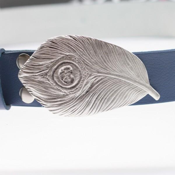 Yaprak Kemer Tokası - 4 cm  Kemerler için uygundur