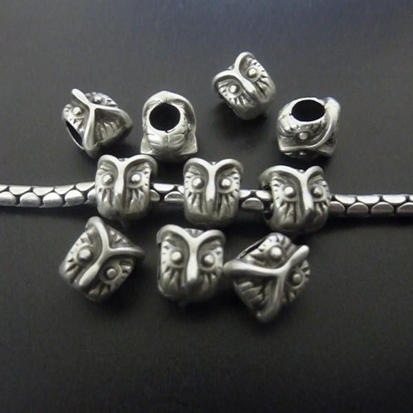 Metal Baykuş Boncuk, Gümüş Baykuş
