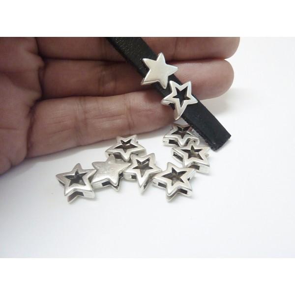 Yıldız Macali Bileklik Malzemeleri: Ölcü:13mm Delik ölçüsü:10x2.5mm